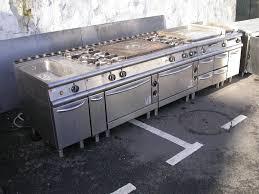 cuisine professionnelle prix ensemble ligne de cuisson élect gaz baron occasion