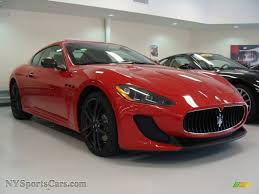 maserati red 2012 maserati granturismo mc coupe in rosso mondiale red