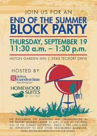 block party invitation afoodaffair me
