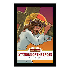 stations of the cross prayer booklet bilingual edition the
