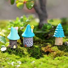 micro cottage online shop 3pcs resin house fairy garden miniatures house micro