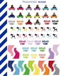 Triptrip by Car Travel Planner Stickers Travel Planner Stickers Road Trip