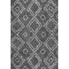 Solid Gray Area Rug by Shag U0026 Flokati Rugs