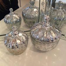 glass bathroom jar ebay