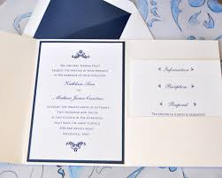 navy wedding invitations navy and silver wedding invitation a noteworthy