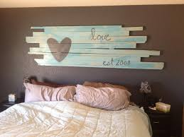 bedroom lovely ana white reclaimed wood headboard queen size