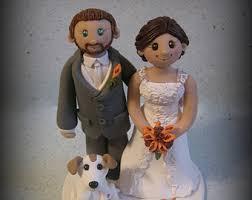 wedding cake topper custom wedding topper bride groom and