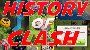 Origination Of Halloween by Clash Of Clans History Of Clash 2012 2015 Youtube