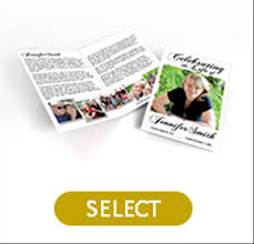 funeral programs printing simple funeral programs that are for printing at your home