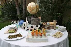 Around The World Themed Around The World Baby Shower Baby Shower Ideas Themes