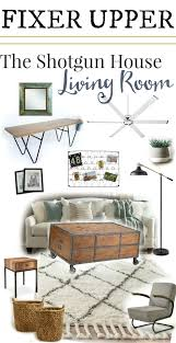 shotgun house fixer upper get the look the weathered fox