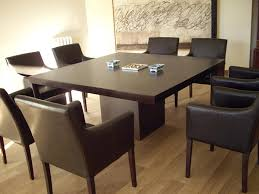 Amusing Exquisite Square Dining Table From Solid Wood  Dining Room - Square dining room table sets