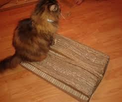 Cat Scratchers Cardboard Cardboard Cat Bed Scratcher 6 Steps With Pictures