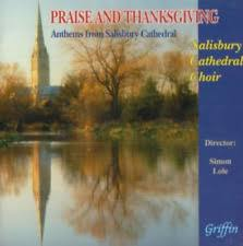 thanksgiving cd praise and thanksgiving anthems from salisbury cathedral cd ebay