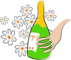 champagne bottle cartoon champagne free stock photo public domain pictures