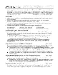 Account Executive Resume Sample by Sample Public Relations Resume Resume Cv Cover Letter
