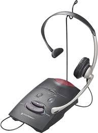 Desk Telephones Plantronics S11 Headset And Amplifier System For Desk Telephones
