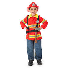 Fireman Costume Deluxe Firefighter Dress Up Costume Toys R Us Australia Join