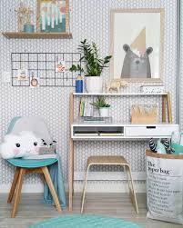 modern scandinavian style kids boys bedroom featuring mocka desk