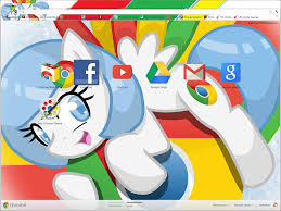 chrome themes cute chrome pony theme for google chrome by xgodofmodzx on deviantart