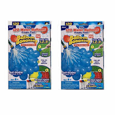 balloon bonanza 3 packs 111pcs fast filled water balloons bombs toys kids garden