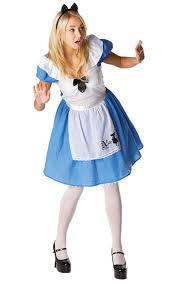 female mad hatter halloween costume rubie u0027s official ladies alice in wonderland alice classic