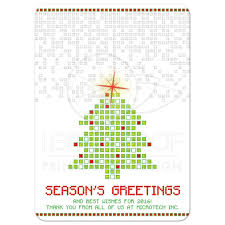 business christmas cards digital pixels gaming unique corporate business christmas card