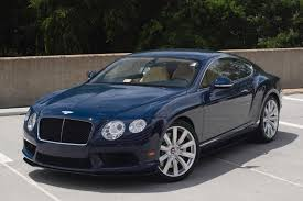 bentley blue 2014 bentley continental gt v8 s stock 4nc096190 for sale near