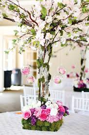 Tree Centerpiece Wedding by Sera U0027s Gorgeous Korean First Birthday Party Dol Tree
