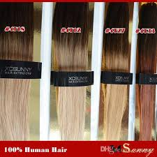 donna hair extensions xcsunny 18 20 inch malaysian ombre hair extension 6a