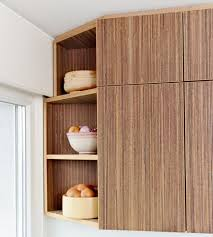 Corner Cabinet Solutions In Kitchens Plexwood Small Space Kitchen Corner Pantry Solution With Dark