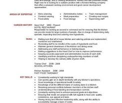 sample chef resumes sample resume and free resume templateschef
