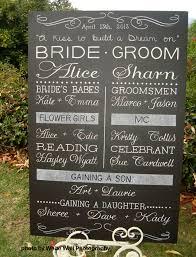 Chalkboard Wedding Program Welcome To Blackboard Artworx U0027s Inaugral Blog Post Blackboard