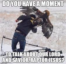 Meme Raptor - image tagged in eagles imgflip