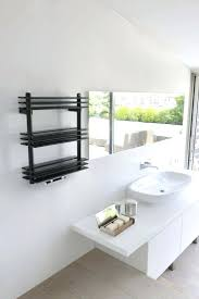 Small Heated Towel Rails For Bathrooms Shelves Wood Towel Rail Shelf Heated Towel Rail With Shelf Uk
