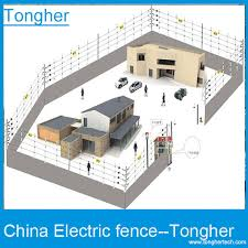 china stable performance high voltage wire electric fence
