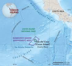 Treasure Island Map Cocos Island National Geographic Society