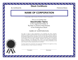 stock share certificate template how to write romantic letters