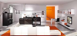 salon de cuisine amenagement cuisine americaine salon photos de design d