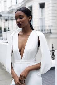 white plunge jumpsuit sleeve plunge v neck jumpsuit white