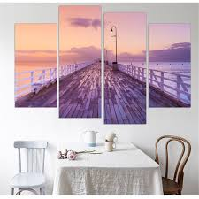 aliexpress com buy seting sun canvas picture seaside scenery