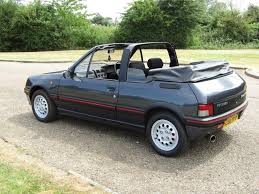 peugeot number 1991 peugeot 205 cti cabriolet for auction anglia car auctions
