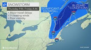 Map New England States by Storm To Unleash Up To A Foot Of Snow Strong Winds In New England