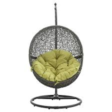 hide outdoor patio swing chair modway target