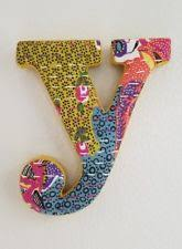 Monogram Letters Home Decor Other Home Décor In Brand Anthropologie Ebay