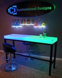 led bar table aurora series customizeddesigns com