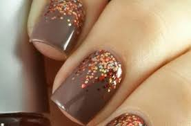gel nail designs for thanksgiving beautify themselves with sweet