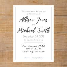 plain wedding invitations plain wedding invitation distinct and personal paper goods