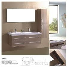 Bathroom Vanity With Side Cabinet China Sink Wall Mounted Pvc Bathroom Vanity With Side