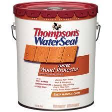 behr 5 gal natural waterproofing wood protector 30005 the home